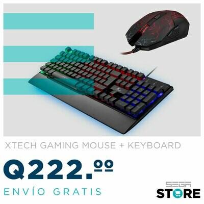 Oferta de la semana combo teclado gaming xtech y mouse