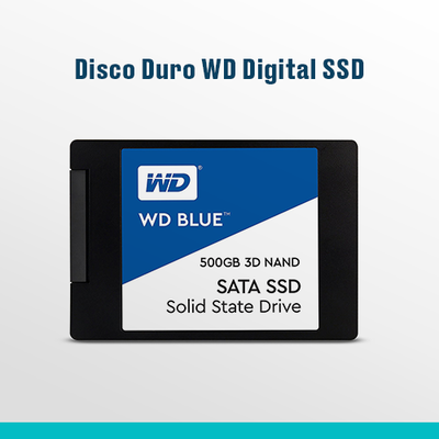 Disco Duro WD Digital SSD