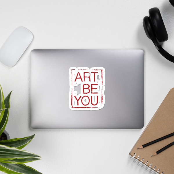 """Bubble-free stickers """"Art Be You"""""""
