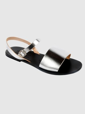 Greek Leather Sandal: Fano