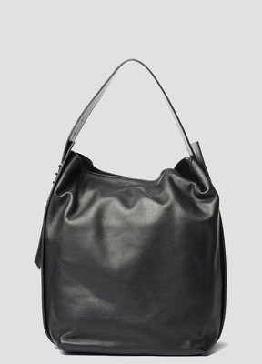 Vic Matie Viola Bucket Bag in Nappa Black leather