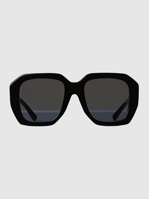 Oversized sunglases in acetate
