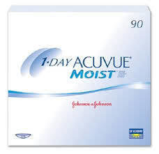 One-Day Acuvue Moist - 90 Pack
