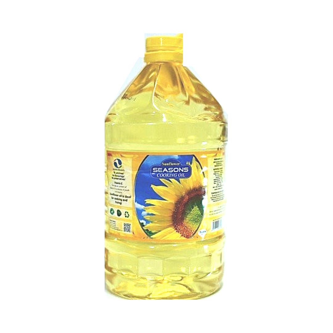 Seasons Sunflower Cooking Oil 5Lt