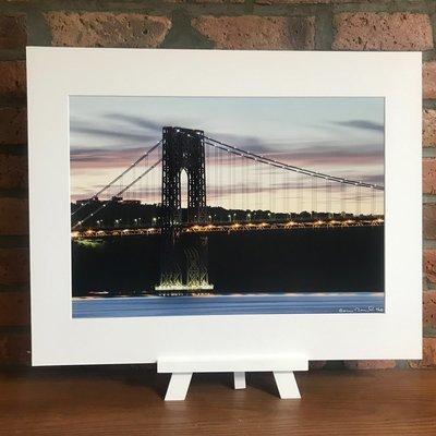 George Washington Bridge at Night - New York City (B)