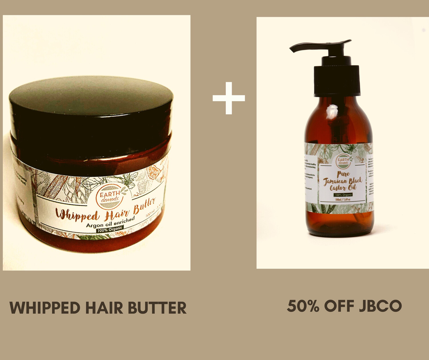 Whipped Hair Butter (100ml) + 50% Off JBCO