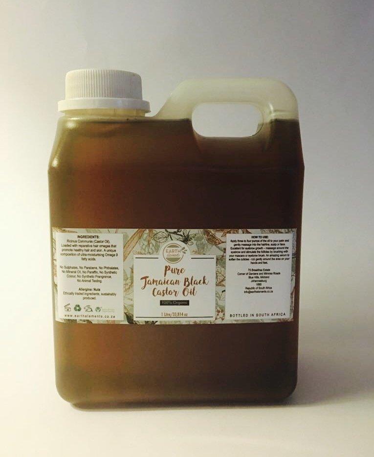 Pure Jamaican Black Castor Oil - Bulk (1 Litre)