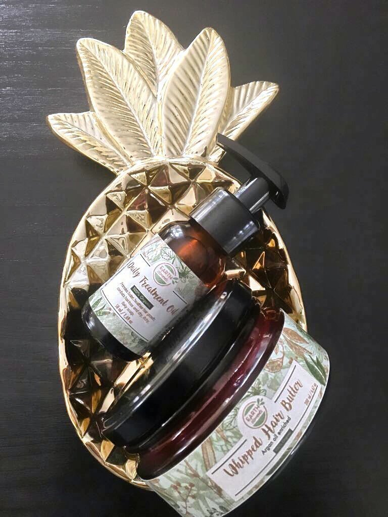 Whipped Hair Butter and Daily Treatment Oil Treatment Combo