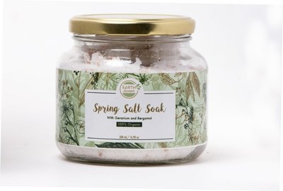 Spring Salt Soak with Bergamot and Geranium