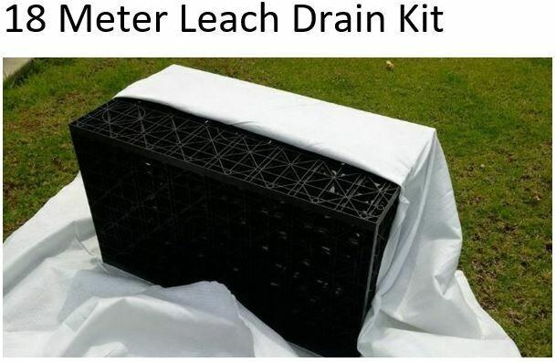 18 Meter Leach Drain Kit (Dept. Health WA Approved)