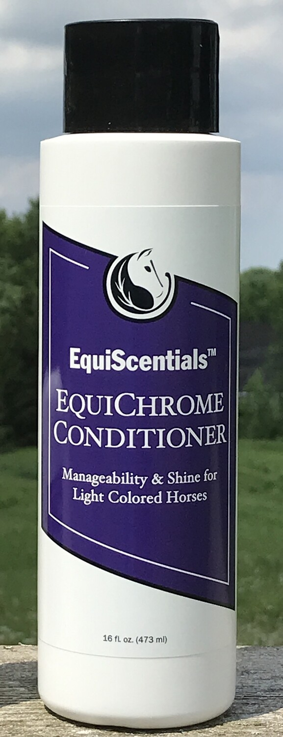 EquiScentials EquiChrome Conditioner 473ml Whiten Brighten and Soften