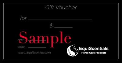 EquiScentials Gift Voucher