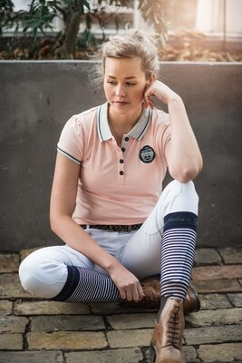 Desiree Polo Shirt - Apricot