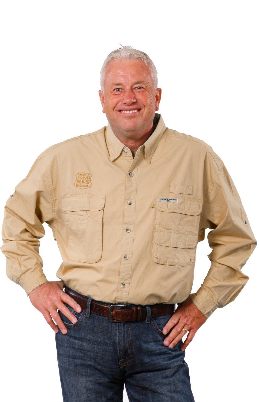 Hook & Tackle Men's Gulf Stream Long-Sleeve Fishing Shirt