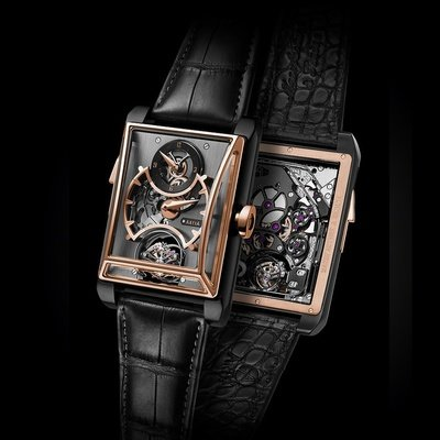 Minute Repeater with 3 Gongs - Gold Titanium