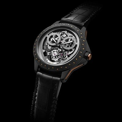 Moorish Monopusher Chrono Tourbillon