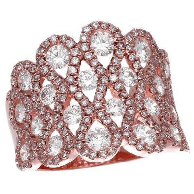 Rose Gold & Diamond