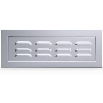 Signature Series Vented Panel Door with Concealed Pressure Hinge - Item No. BA-SWVENT