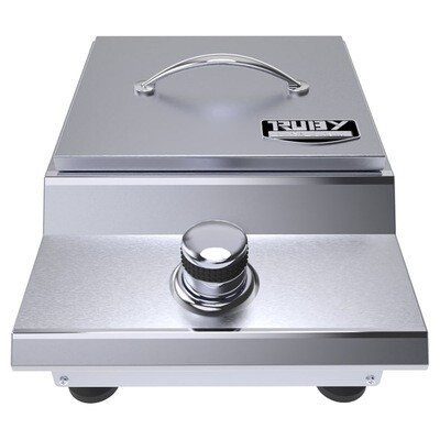 Ruby Series Counter-top or Drop-in Versa Single Burner - Item No. SUN13VSB