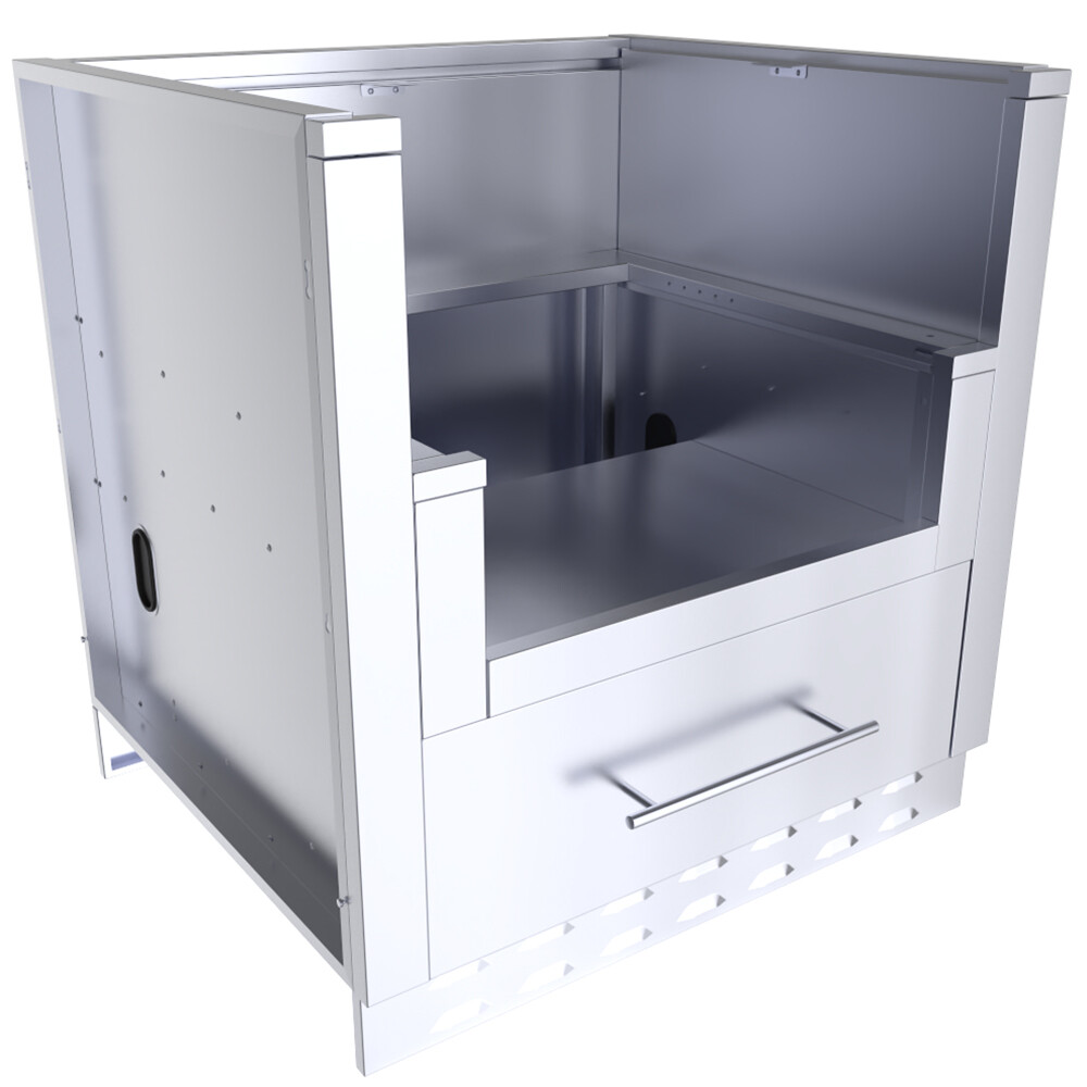 "33"" Power Burner Base Cabinet  - Item No. SAC33PBDC"