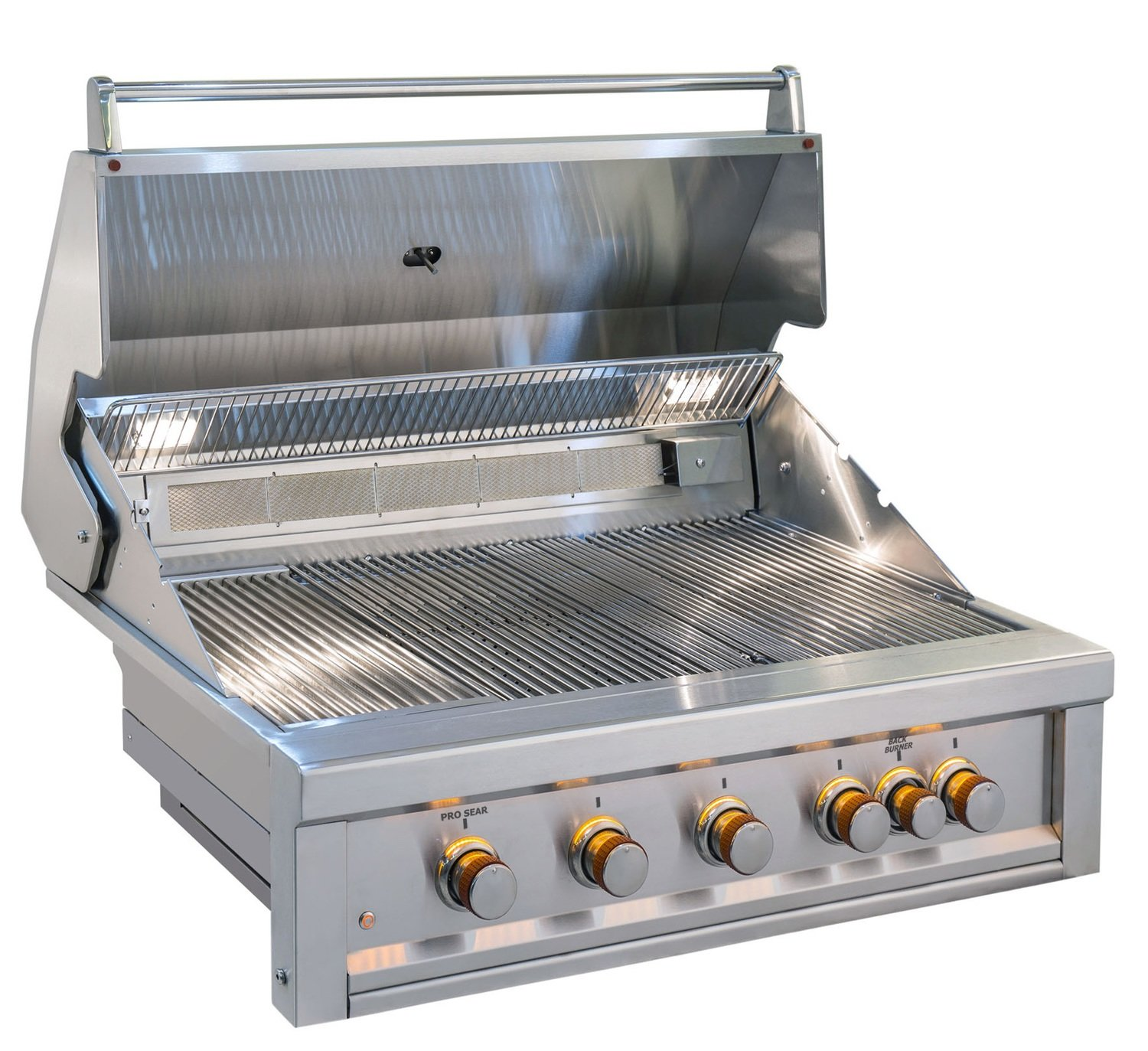"Ruby 5 Burner Pro-Sear 42"" w/IR - Item No. RUBY5BIR"