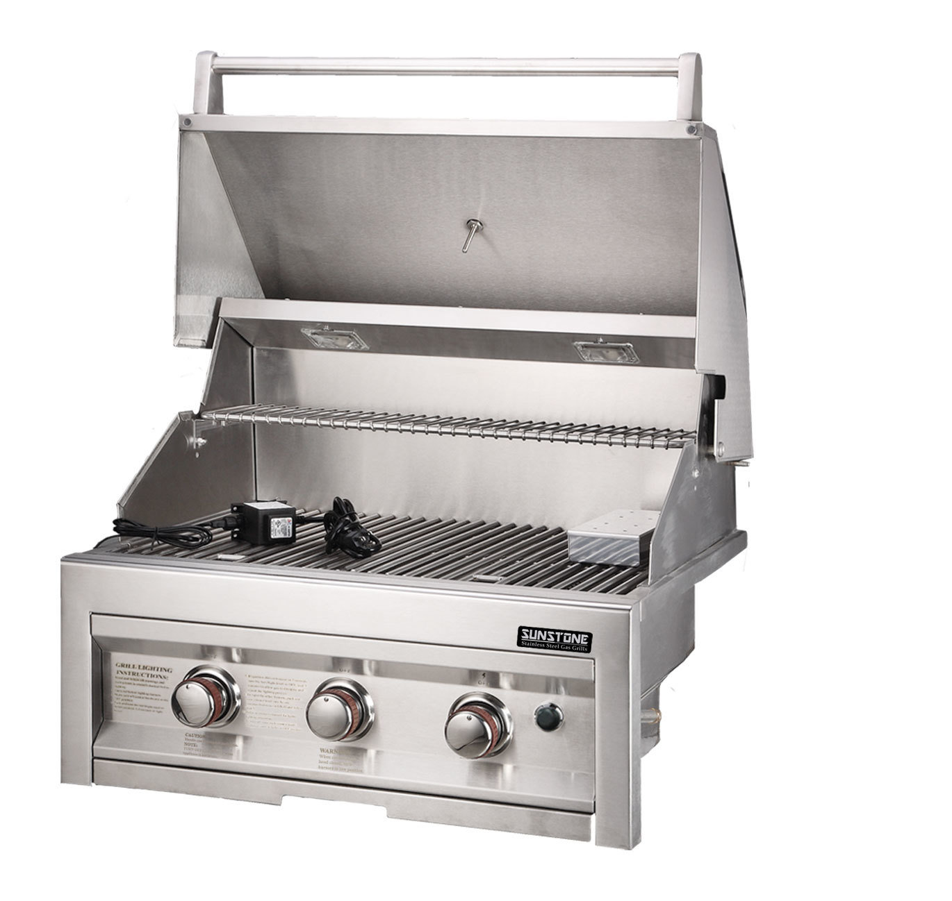 "SUNSTONE 3 Burner Grill 28"" - Item No. SUN3B"