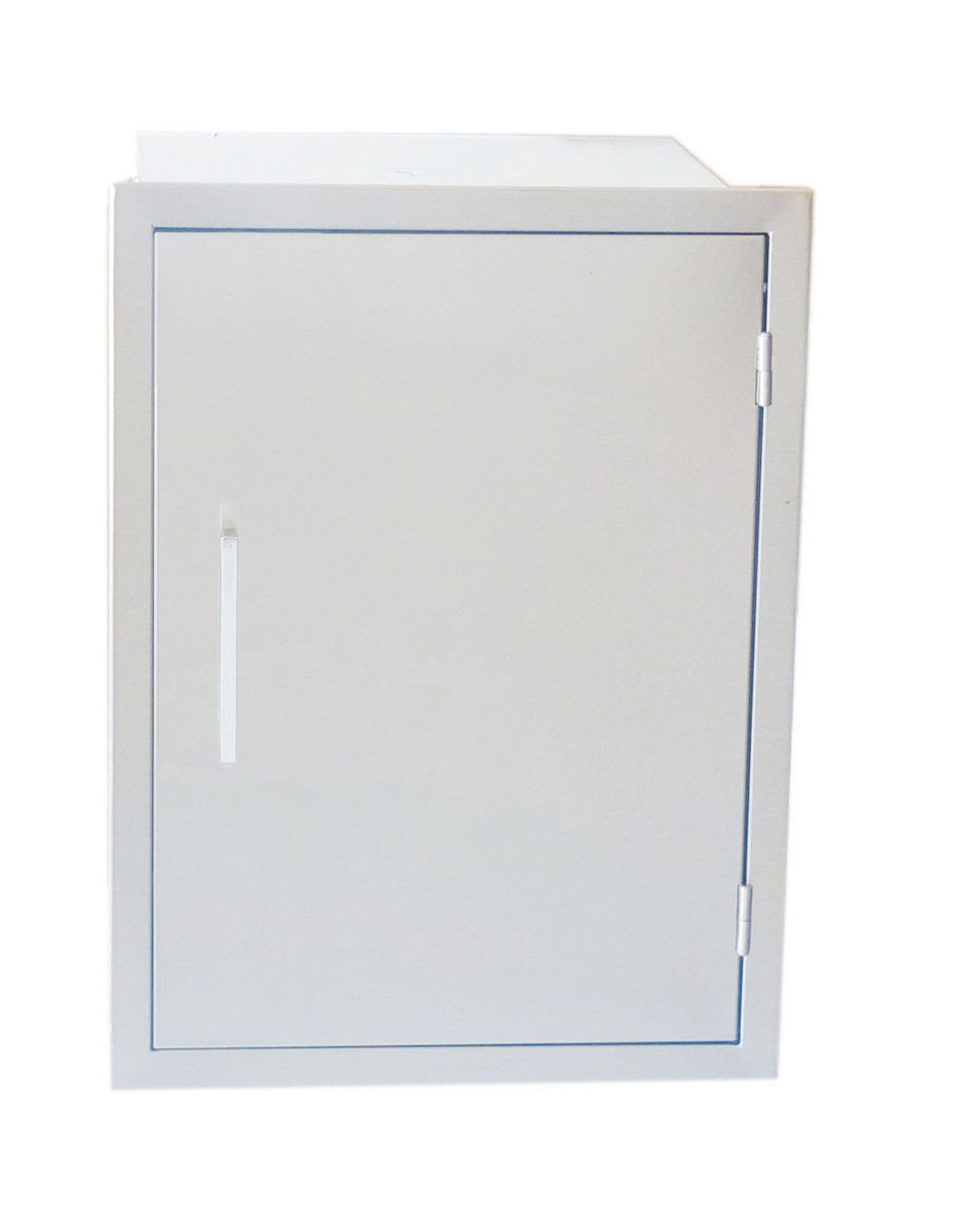 "Signature Series 17"" x 24"" Beveled Frame Weather Sealed Dry Storage Pantry - Item No. BA-DSV1724"