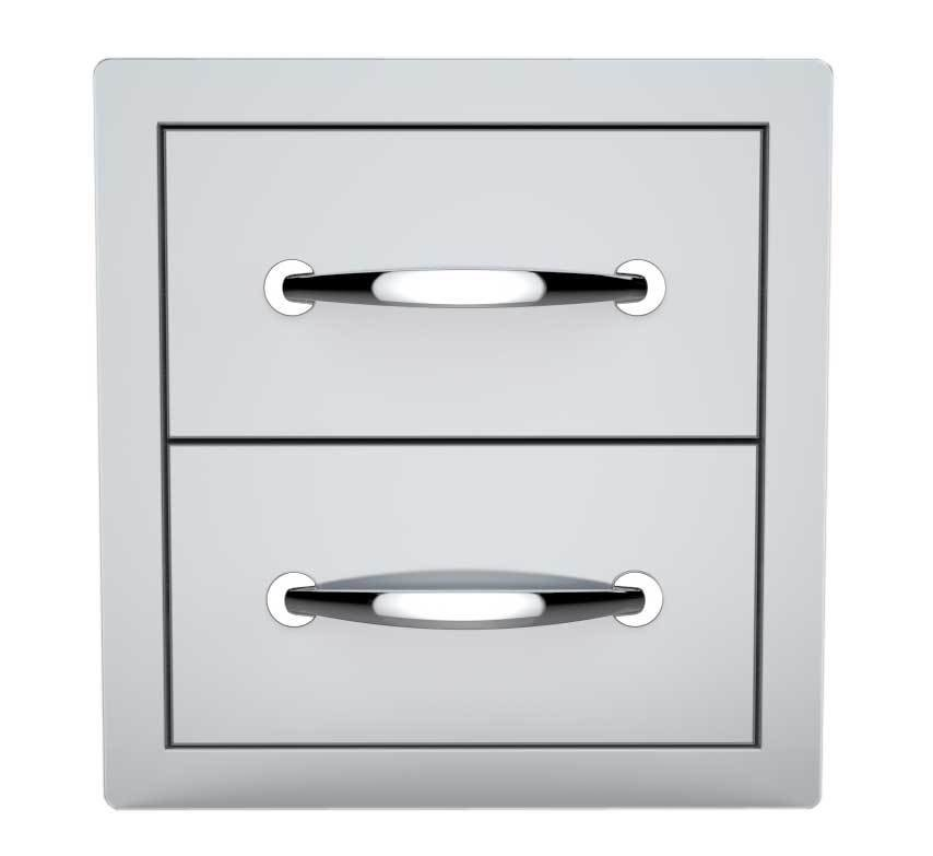 "14"" Double Access Drawer Item No.B-DD12"