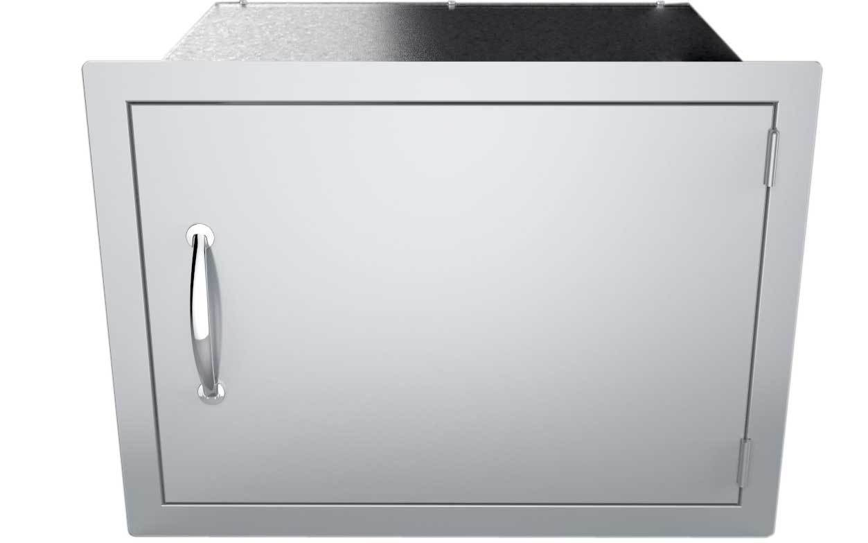 "17"" x 24"" Flush Mount Horizontal Dry Storage Pantry Cabinet - Item No. DSH1724"