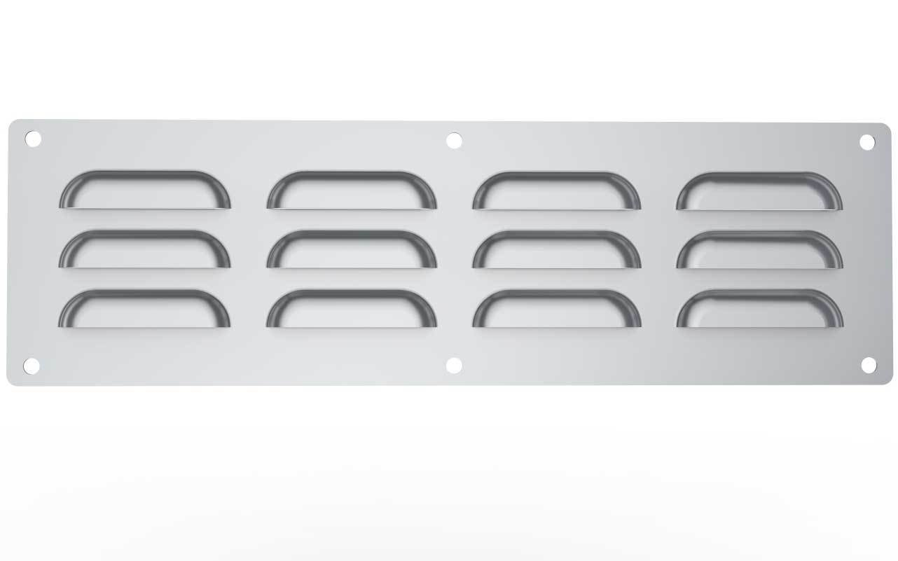 "15"" x 4-1/2"" 304 Stainless Steel Vent"