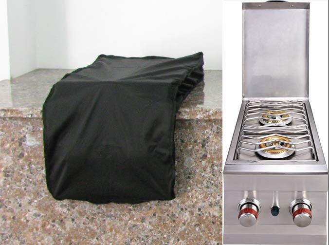 "Waterproof cover for Slide Out Double Burner -Size:15"" W x 35-3/8"" H x 3-7/8"" D"