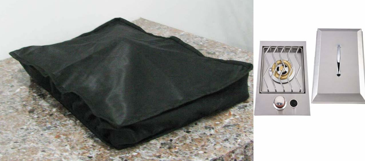"Waterproof cover for Slide Out Drop in Single Burner- Size:12-5/8"" W x 19-5/8"" L?�x 3-7/8"" D"