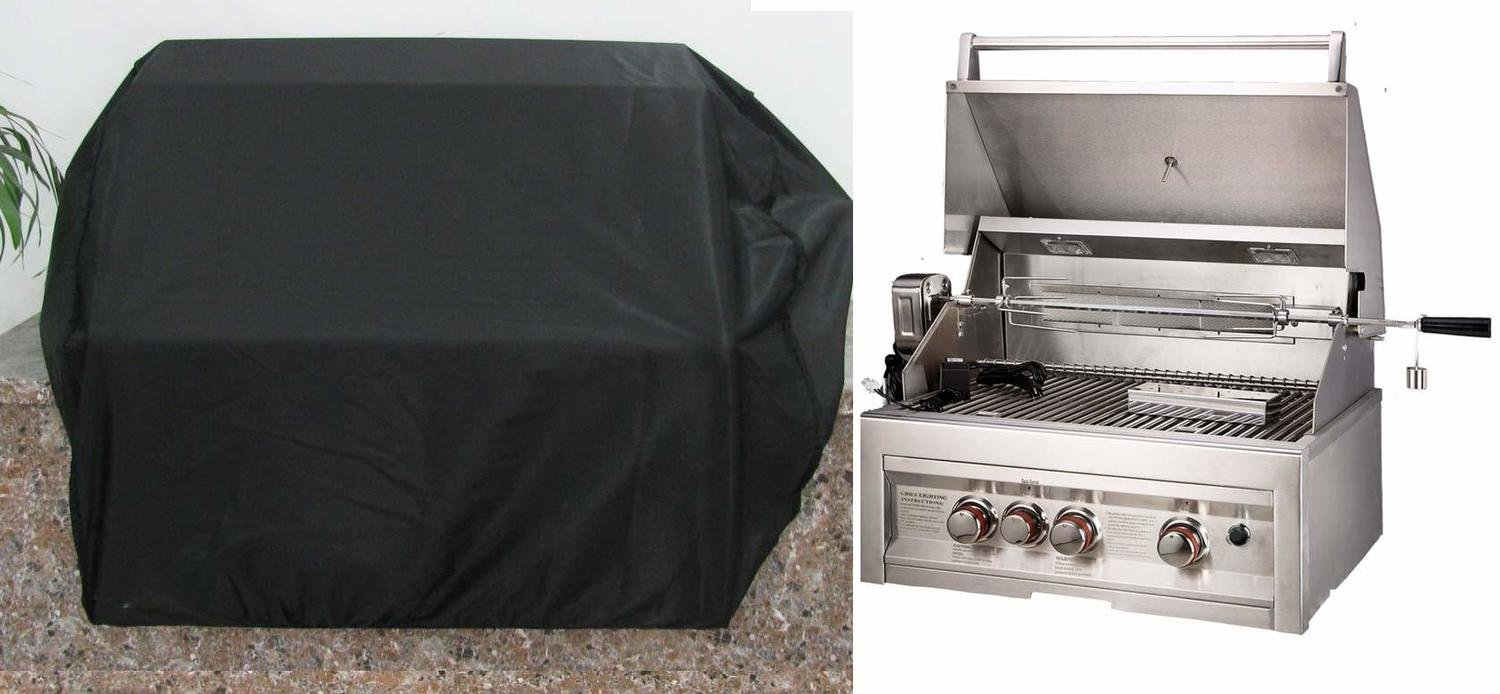 "Waterproof Grill Cover for 28"" to 32"" Drop in Grills - Size:34.6"" W x 28"" H"