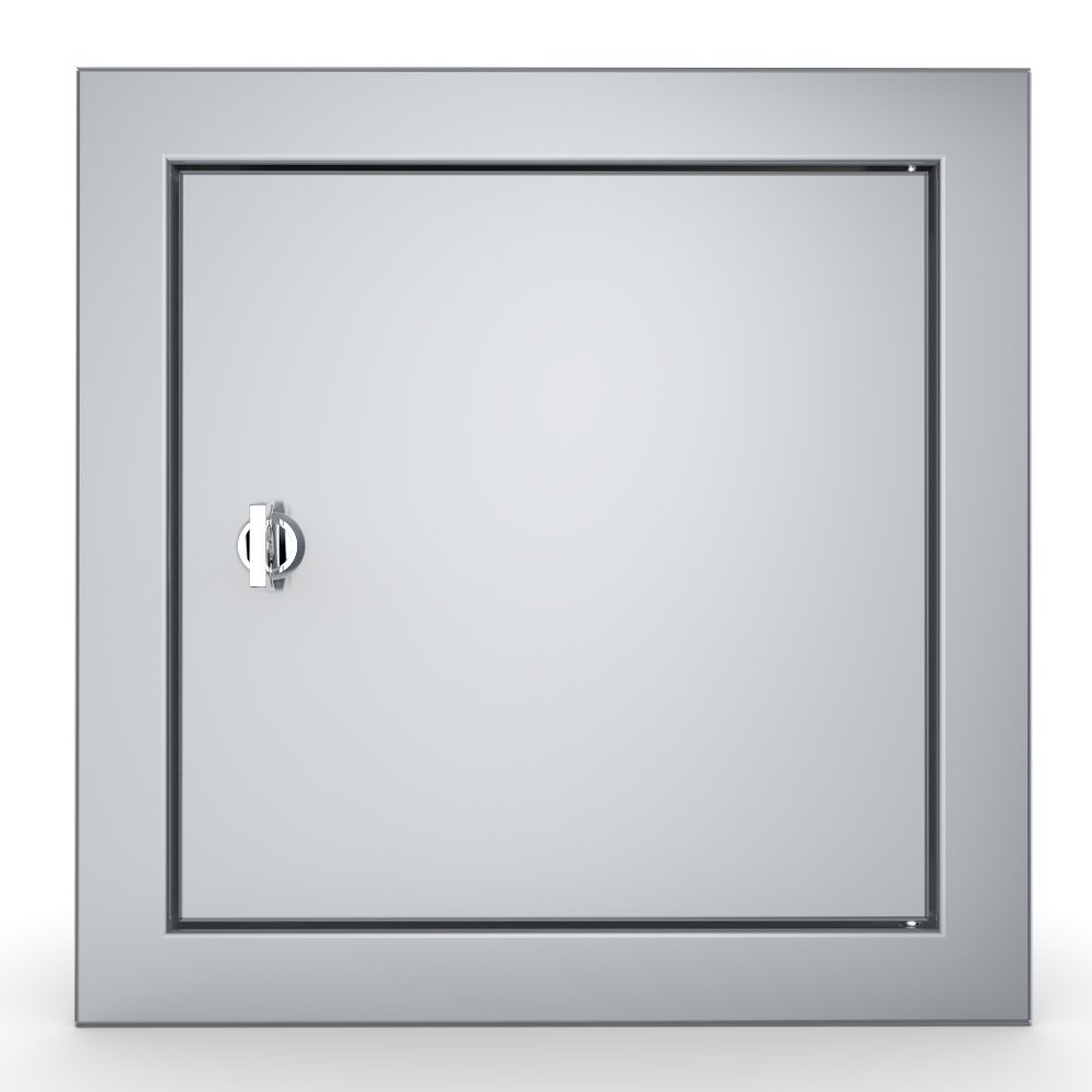 "Signature Series Flush Style 12"" x 12"" Utility Access Door - Item No. BA-SD12"