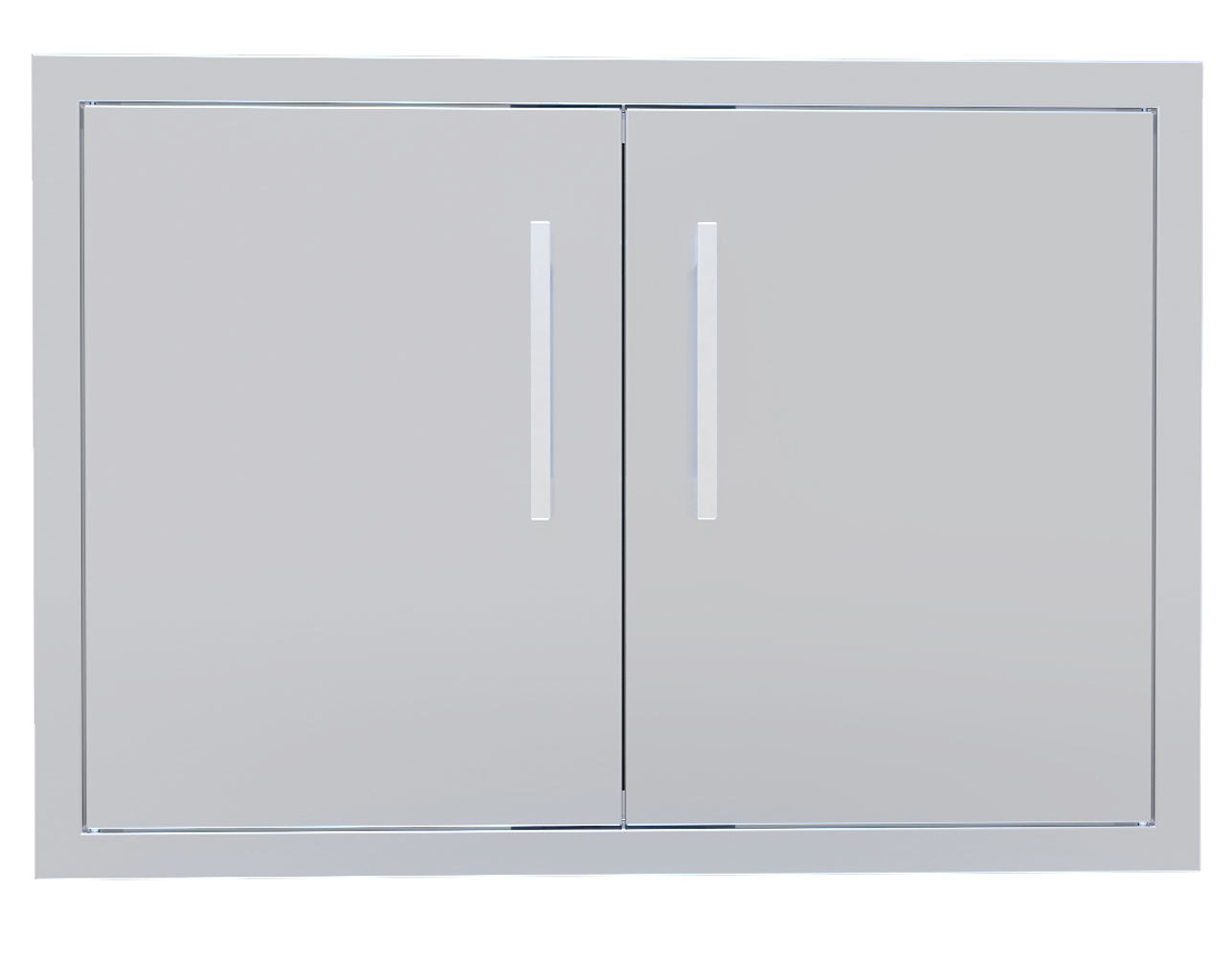 "Signature Series 30""&36""42"" Beveled Frame Double Access Door"