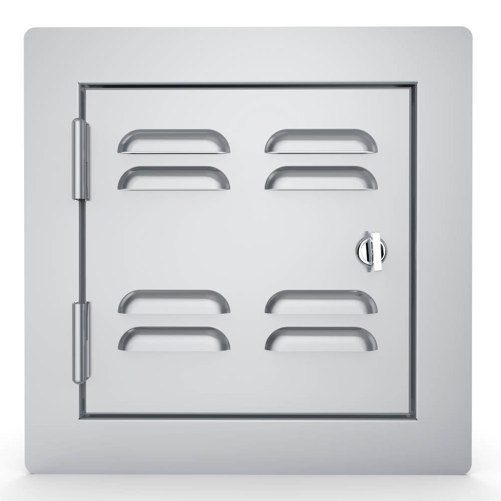"""Classic Series Flush Style 12""""x12"""" Utility Access Door Vented"""