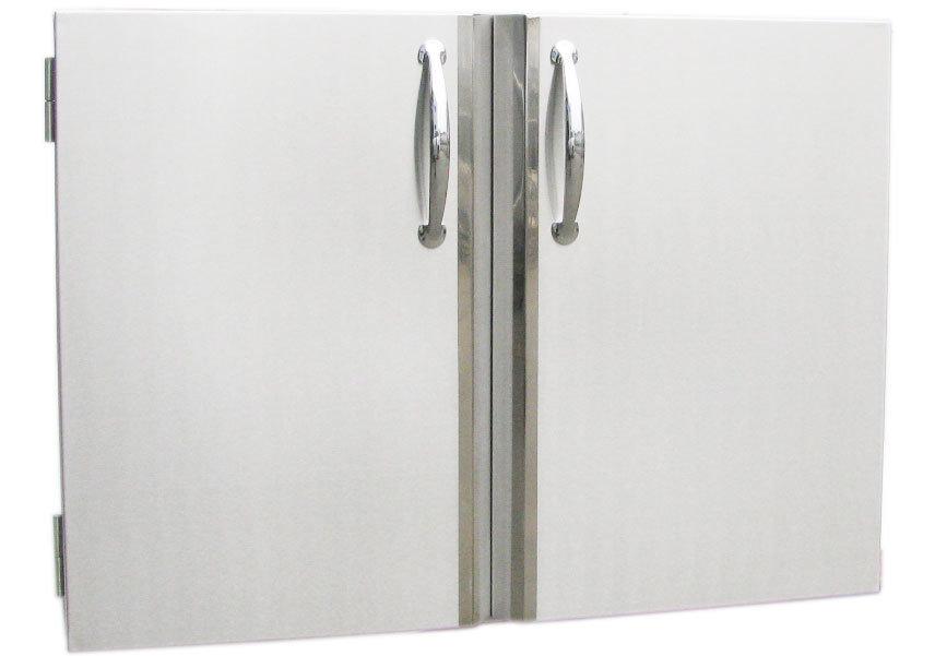 Double Door / Tank Holder & Dual Drawer - Item No. DD30