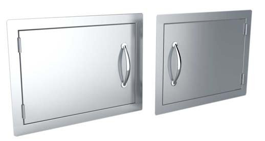 14x20 & 17x24 Horizontal Access Door/Can be installed Left or Right Swing