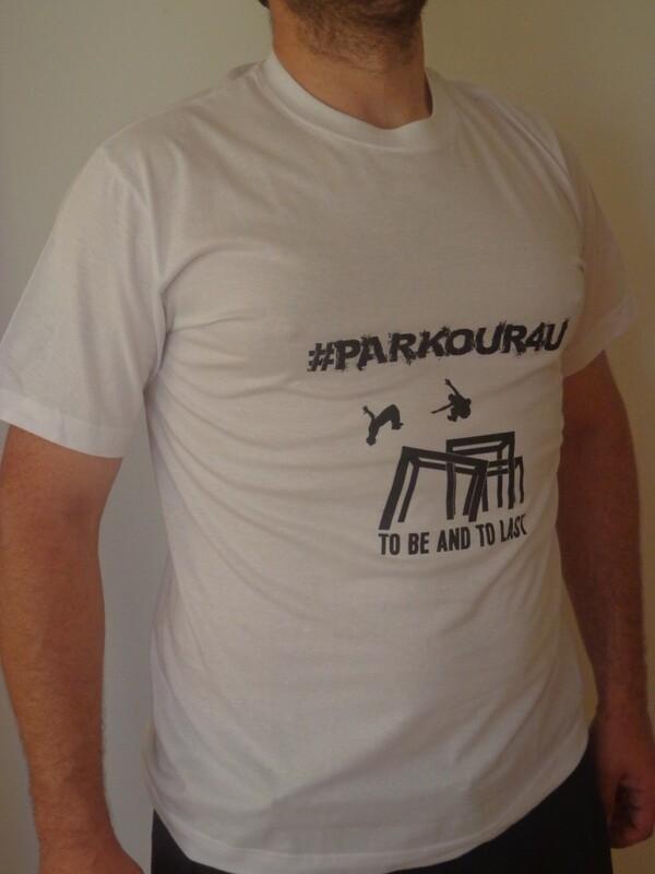 Tričko #PARKOUR4U