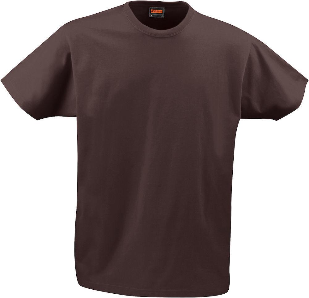 Männer T-Shirt braun