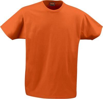 Männer T-Shirt orange