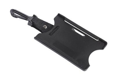 Ausweishalter schwarz