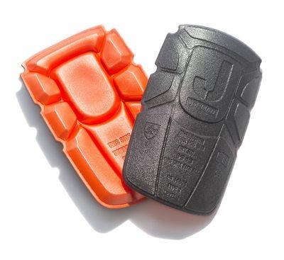 Kniepolster orange / schwarz