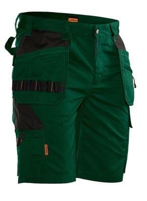 Kurze Hose grün / schwarz