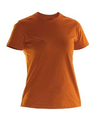 Damen T-Shirt orange