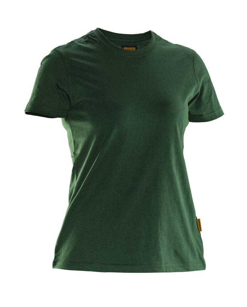 Damen T-Shirt grün