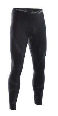 Lange Unterhose Next to Skin grau / schwarz