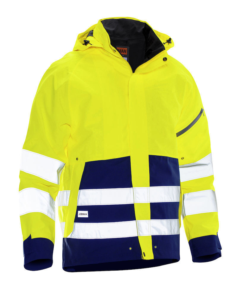 Shell Jacke Hi-Vis gelb / marine