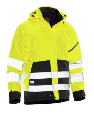 Shell Jacke Hi-Vis gelb / schwarz