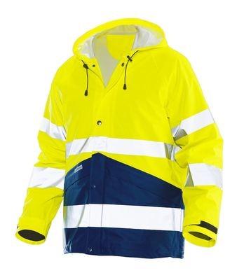 Regenjacke Hi-Vis gelb / marine